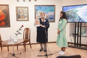 15.09.2021 - Презентация выставки Натальи Родионовой