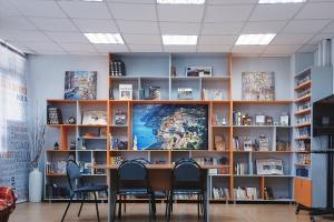 05.2021 - Новое пространство в Зале иностранной литературы